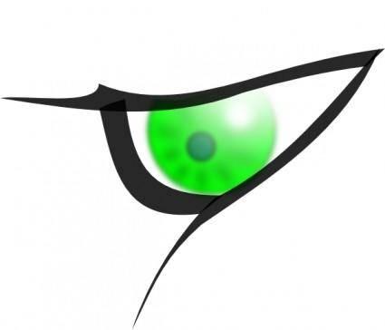 free vector Eye clip art