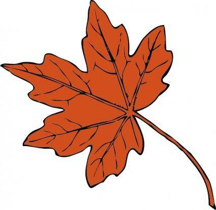 free vector Maple Leaf clip art