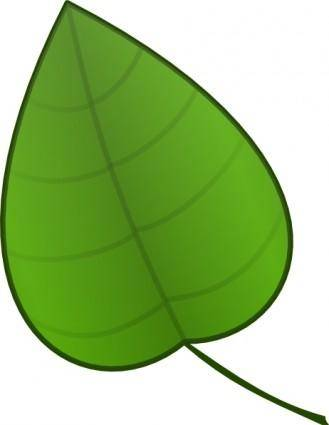 free vector Leaf clip art