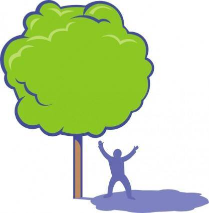 free vector Shady Tree clip art