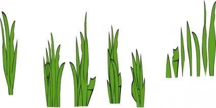 Grass Blades And Clumps clip art