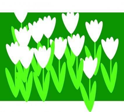 free vector Spring Flowers clip art