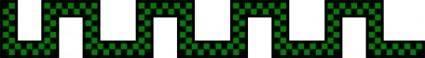 Divider Checkered Green Snake Shape Worldlabel Com clip art