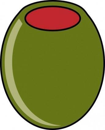 Green Olive clip art