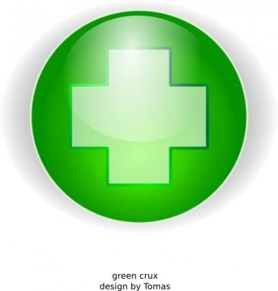 free vector Green Cross clip art