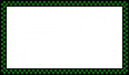 free vector Border Worldlabel Com Green clip art