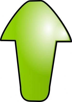 free vector Green Arrow clip art