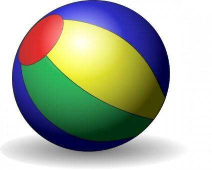 Beachball V clip art