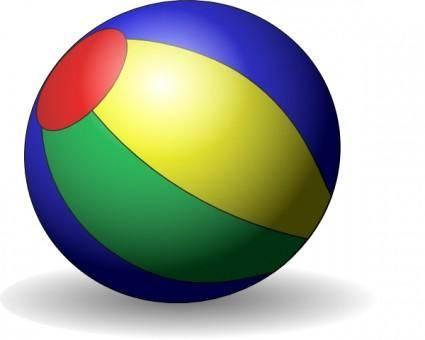 free vector Beachball V clip art