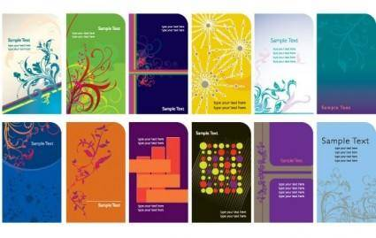 free vector Trend card template vector graphics