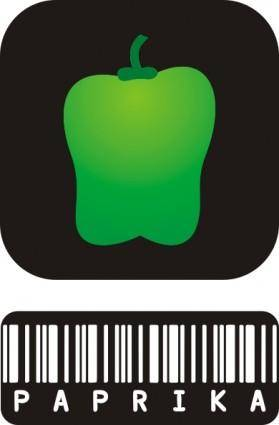 free vector Green Pepper clip art
