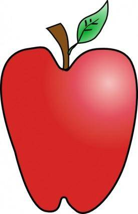 Cartoon Apple clip art