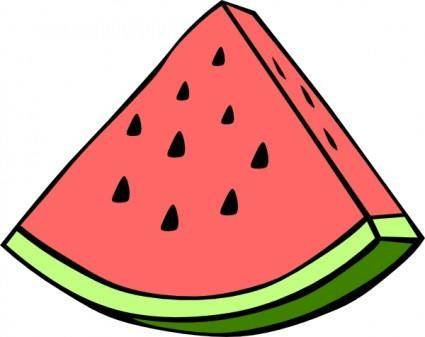 Watermelon Wedge clip art 115750