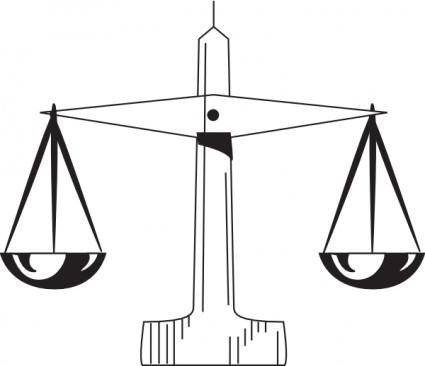 Scale Of Justice clip art