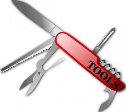 Swiss Knife clip art