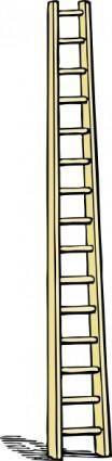 free vector Tall Ladder clip art