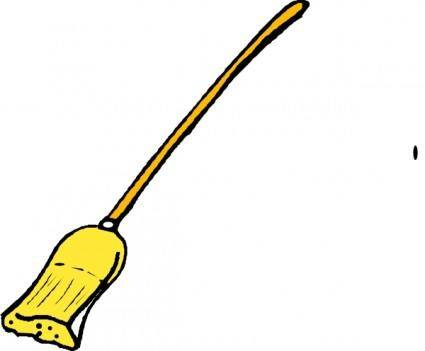 free vector Broom clip art