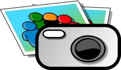 Photo Camera clip art