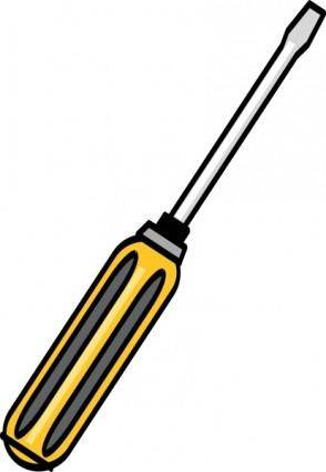 Screwdriver clip art