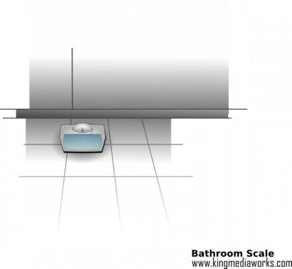 free vector Bathroom Scale clip art