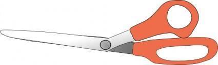 free vector Scissors Closed clip art