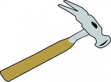 free vector Hammer clip art