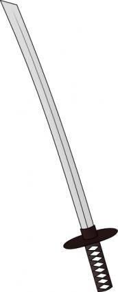 free vector Katana clip art