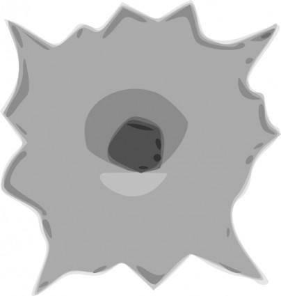 Bullet Hole clip art