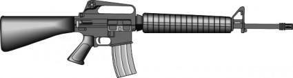 free vector M16 clip art