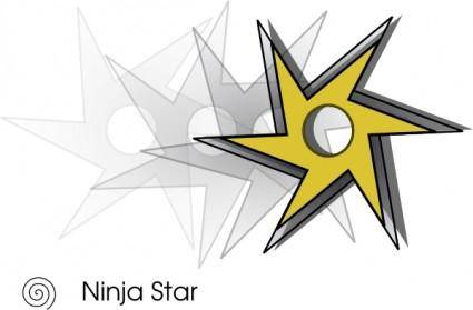 Ninjastar clip art