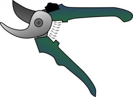 Bypass Pruner clip art