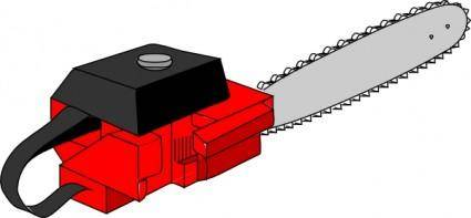free vector Chain Saw clip art