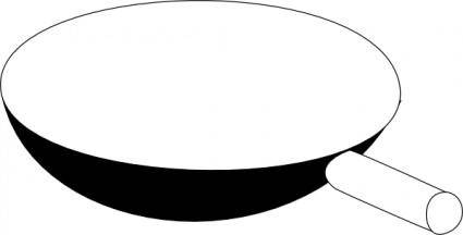 Cooking Frying Pan clip art