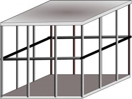 Metal Cage clip art
