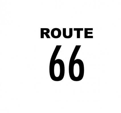 free vector Route 66 clip art