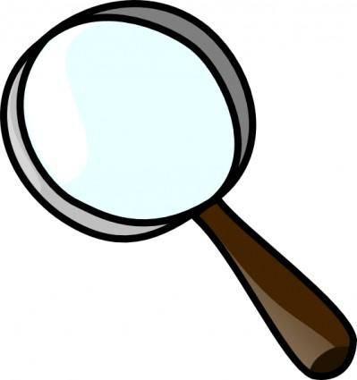Magnifier clip art
