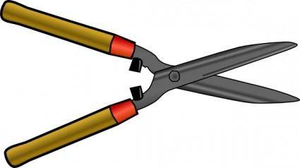 Hedgeshear clip art