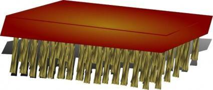 Scrub_brush clip art