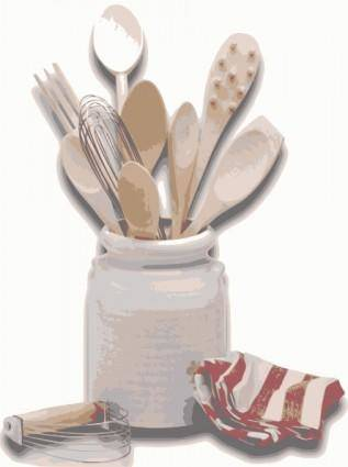 Kitchen Tools Utensils clip art