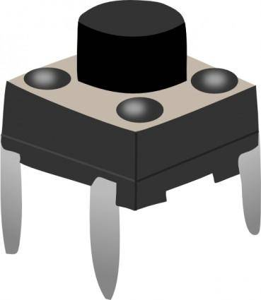 Electronic Calliper / Button clip art