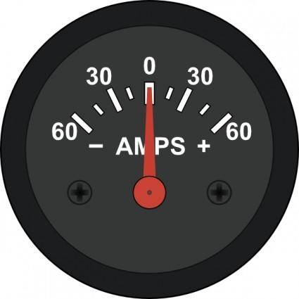 free vector Startright Automotive Amp Meter clip art