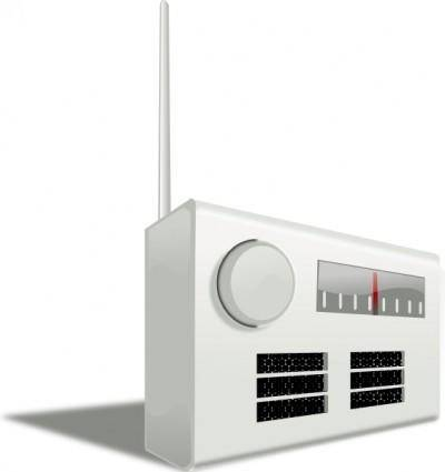 free vector Old Radio clip art