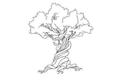 free vector FREE VECTOR TREE - EARTH WEEK