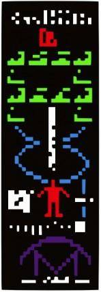 Ufo Alien Message clip art