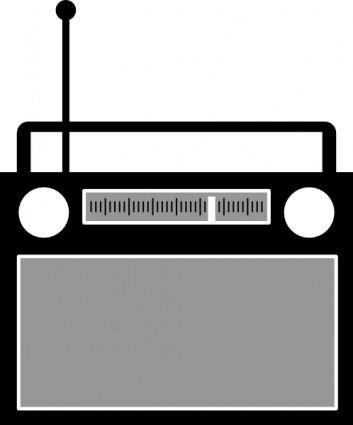 Radio Reciever clip art