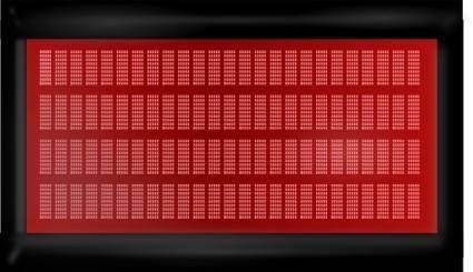 free vector Lcd Matrix Display clip art