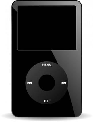 Ipod Media Player clip art