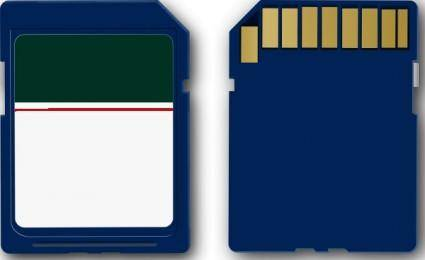 Sd Card clip art