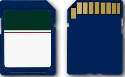 free vector Sd Card clip art