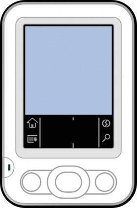 free vector Palm Pc clip art